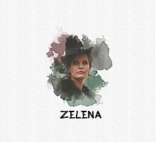 Zelena - Wicked Witch - OUAT Photographic Print