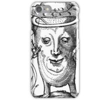 Droll Dreams of Pantagruel Plate 15 iPhone Case/Skin