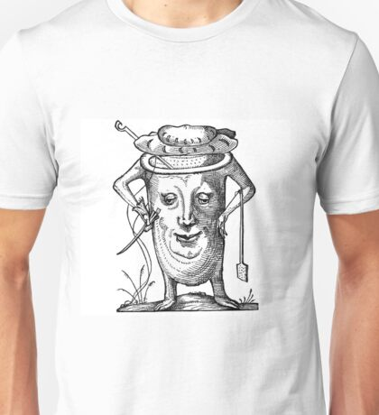 Droll Dreams of Pantagruel Plate 15 Unisex T-Shirt