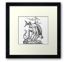 Droll Dreams of Pantagruel Plate 7 Framed Print