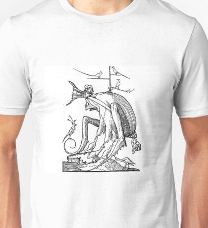 Droll Dreams of Pantagruel Plate 7 Unisex T-Shirt
