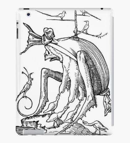 Droll Dreams of Pantagruel Plate 7 iPad Case/Skin