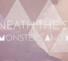 Of Monsters and Men Wolf Cover Sticker