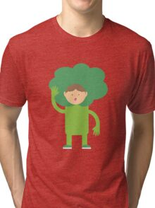Broccoli Boy Tri-blend T-Shirt