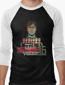Jan Quadrant Vincent 16 Men's Baseball ¾ T-Shirt