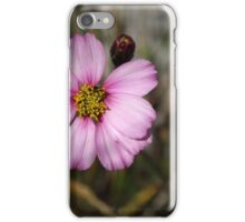 Purple Flower on a Stem iPhone Case/Skin