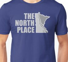 The North Place (Topographic) Unisex T-Shirt
