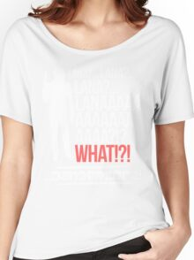 LANAAAAAAA!?!... Danger Zone! Women's Relaxed Fit T-Shirt