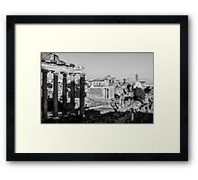 Traces of History Framed Print