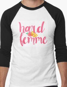 Hard Femme Men's Baseball ¾ T-Shirt
