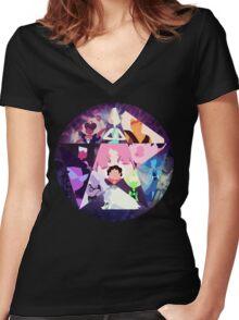Gems Women's Fitted V-Neck T-Shirt