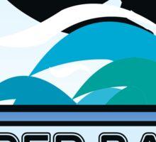Surfing Super Bank Australia Surf Surfboard Waves Gold Coast Sticker