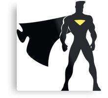 Superhero Metal Print