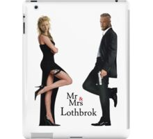 Mr & Mrs Lothbrok iPad Case/Skin