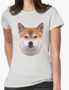 The Shiba Inu Womens Fitted T-Shirt