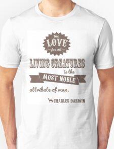 Charles Darwin Quote T-Shirt