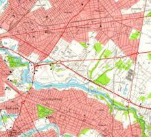USGS TOPO Map New Jersey NJ Camden 254233 1949 24000 Sticker