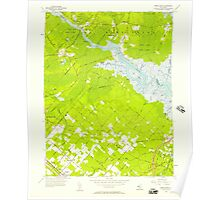 USGS TOPO Map New Jersey NJ Green Bank 254426 1956 24000 Poster