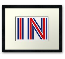 IN - Britain Stay Framed Print