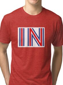 IN - Britain Stay Tri-blend T-Shirt