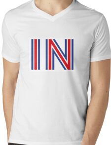 IN - Britain Stay Mens V-Neck T-Shirt