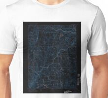 USGS TOPO Map Connecticut CT Gilead 331029 1892 62500 Inverted Unisex T-Shirt