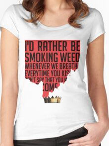 JAMES JOINT Women's Fitted Scoop T-Shirt