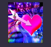 When Music arrow targeted heart Unisex T-Shirt