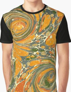 Old Marbled Paper 03 Graphic T-Shirt