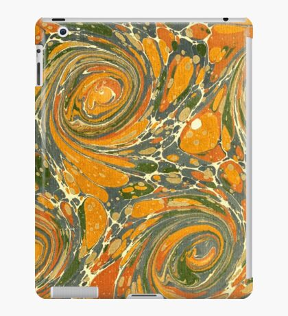 Old Marbled Paper 03 iPad Case/Skin