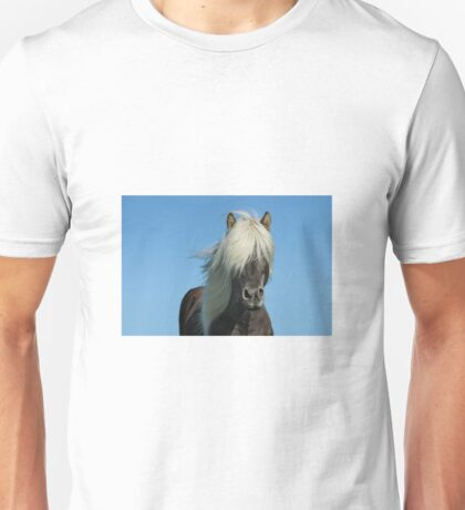 Horse and blue sky Unisex T-Shirt