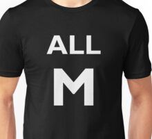ALL MIGHT (White) Unisex T-Shirt