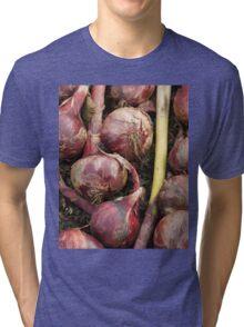 Red Onions Tri-blend T-Shirt