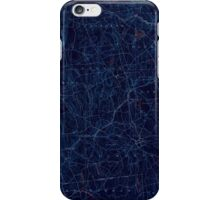 USGS TOPO Map Connecticut CT Gilead 331025 1892 62500 Inverted iPhone Case/Skin