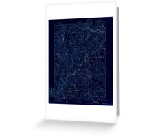 USGS TOPO Map Connecticut CT Gilead 331025 1892 62500 Inverted Greeting Card
