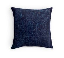 USGS TOPO Map Connecticut CT Gilead 331025 1892 62500 Inverted Throw Pillow