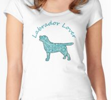 Labrador Lover Women's Fitted Scoop T-Shirt