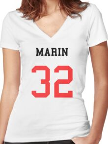 MARIN 32 Women's Fitted V-Neck T-Shirt