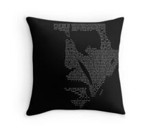 Gabriel Garcia Marquez Colombia Throw Pillow