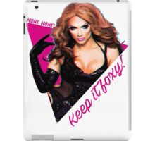 KEEP IT FOXXY! iPad Case/Skin