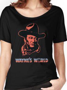 John Wayne's World Colour Women's Relaxed Fit T-Shirt