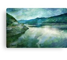Spirit of the Lake on the mountains Canvas Print