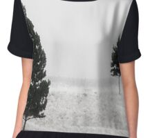 Trees In The Mist Chiffon Top