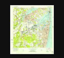 USGS TOPO Map New Jersey NJ Long Branch 254536 1954 24000 Unisex T-Shirt