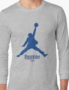 Bernie Sanders Dunk Long Sleeve T-Shirt