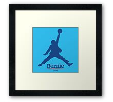Bernie Sanders Dunk Framed Print