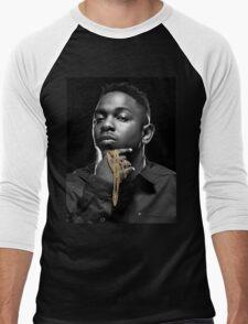Kendrick Lamar Portrait Men's Baseball ¾ T-Shirt