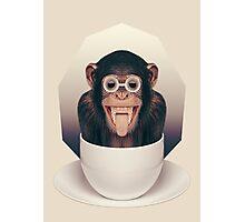 Caffeinimals: Monkey Photographic Print