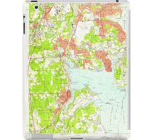 USGS TOPO Map Rhode Island RI East Greenwich 353280 1957 24000 iPad Case/Skin