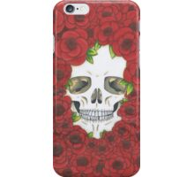 Skull 'n Roses iPhone Case/Skin